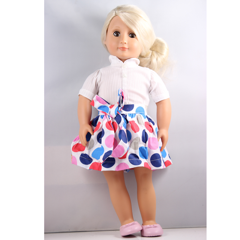 18 inch American Girl Doll Our Generation Doll With Clothes And Shoes DHL UPS FEDEX EMS Express Free Shpping аксессуары для телефонов senter st 220 dhl ups fedex ems st220