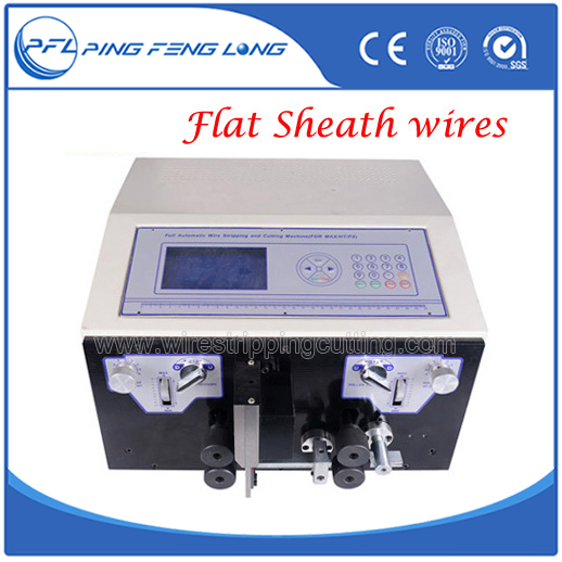 PFL-05F Automatic jacket wire stripping cutting machine for oval wires
