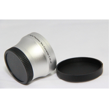 37mm 2.0x TELE Telephoto LENS for Camcorder 37 mm 2x Silver Black