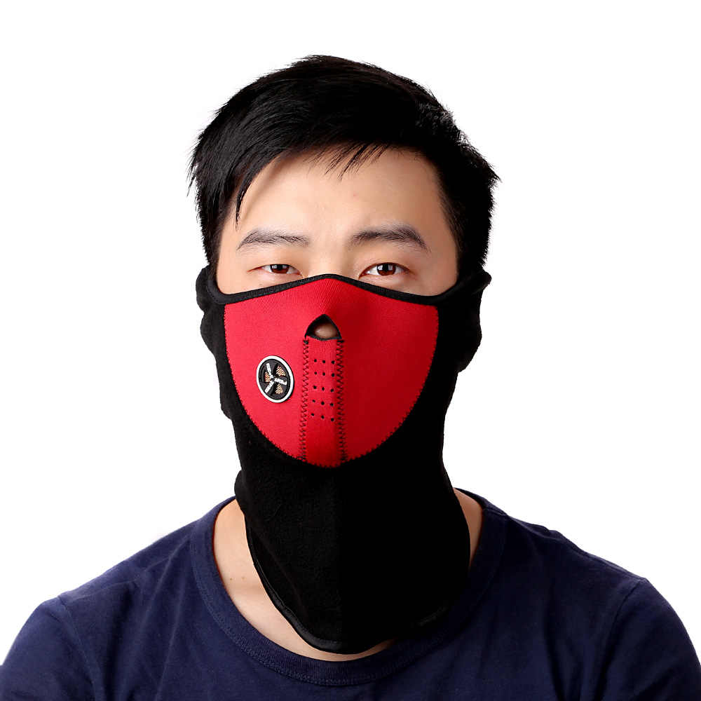 Sports Face Mask Bicyle Cycling Motorcycle Winter Sports Ski Snowboard Hood Wind Stopper Face Mask Headwear Thermal Fleece