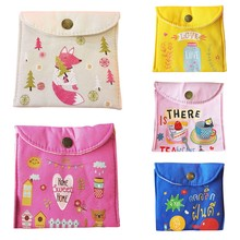 Sanitary Napkins Pads Carrying Easy Bag Portable Pouch Case Bags For Women Girls(China)