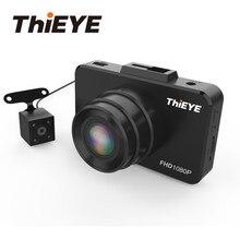 """ThiEYE Safeel 3R DVR del Precipitare Della Macchina Fotografica Reale 1080 P 2.45 """"Dash Cam Dual Lens Videocamera vista posteriore Videocamera per auto Con G- sensore di Dashcam"""
