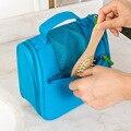 Women Zipper Makeup bag Girl Cute Cosmetic Bag travel Storage Bags Make Up Organizer