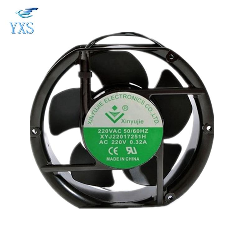 XYJ22017251H AC 220 V 0.32A 17251 172*150*51mm 17 cm Ventilateur De Refroidissement