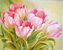5D DIY Diamond Painting Blooming Flowers Full Square Embroidery  Mosaic Paintings Rhinestones Handwork