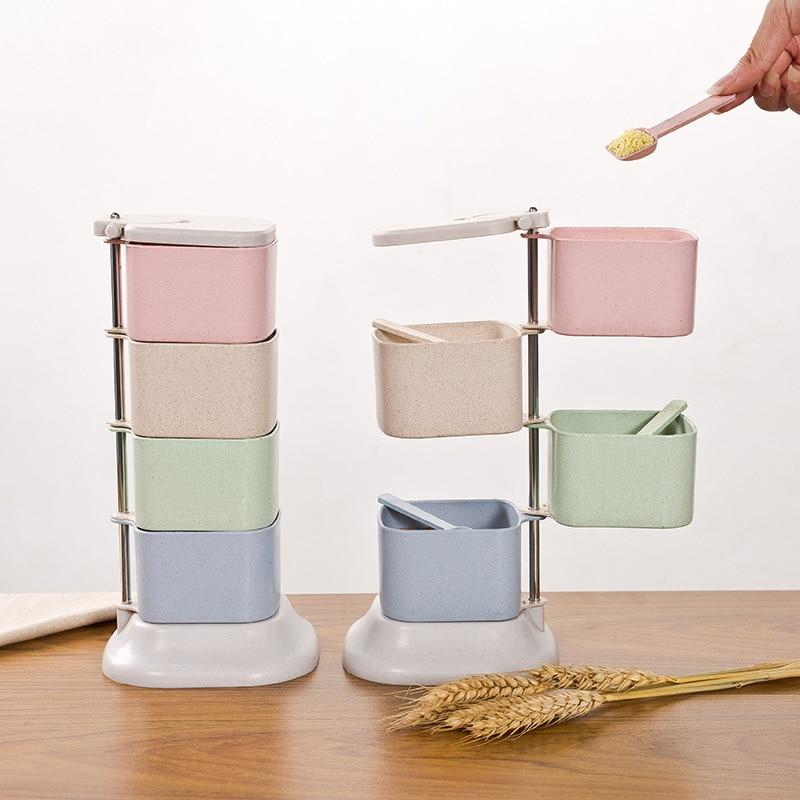 Eko-přátelské plastové kuchyňské kořeněné koření koření - Kuchyně, jídelna a bar