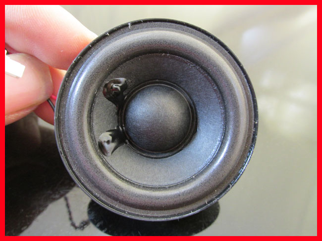 Imported 2 inch 8 European frequency horn HIFI DIY stereo mini virus have a fever electronic components 2 inch magnetic tritone horn diy computer speakers