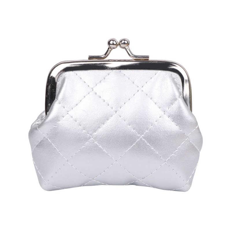 THINKTHENDO Women Girl Fashion Mini Coin Purse Change Wallet Card Holder  Clutch Handbag New Elegant Faux 67fd6da762d4