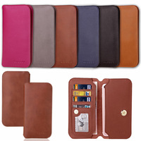 Genuine Leather Cover For Xiaomi Redmi Note 3 Note 4 Case Multifunctional Wallet Phone Fundas For