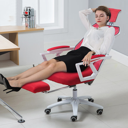 Attachment Computer Household Work An Office Chair Netting Chair Can Lie Swivel Chair Boss Chair Noon Break Chair Game Electric computer chair can lie lifting boss chair leather swivel chair