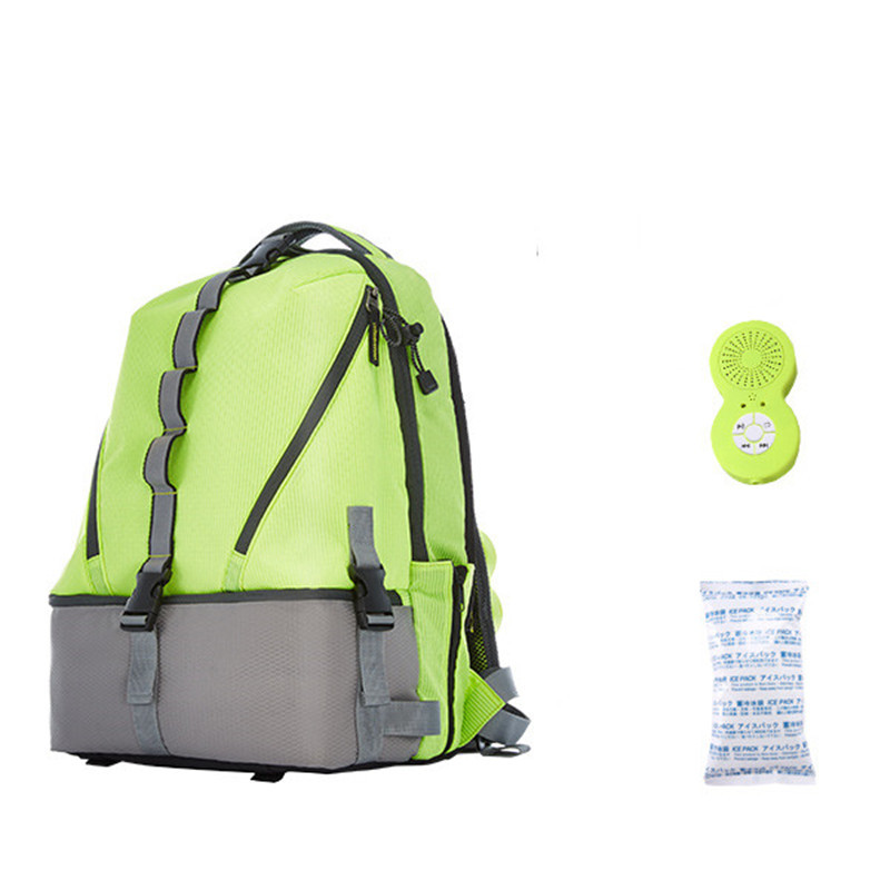 New Sport Bags 26L Waterproof Ice Cooler Backpack With Bluetooth Speaker Outdoor Hiking Case Cover Climbing Rucksack Bag 12mm waterproof soprano concert ukulele bag case backpack 23 24 26 inch ukelele beige mini guitar accessories gig pu leather