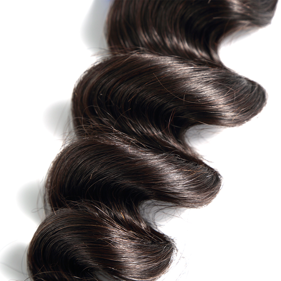 ILARIA волосы бразильские Виргинские пучки волос свободная волна 4 шт./партия необработанные человеческие волосы переплетаются натуральный цвет чувствовать себя мягкими и удобными