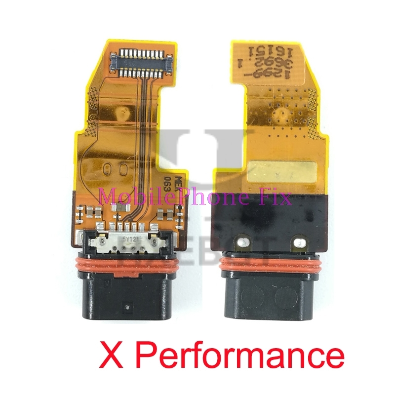 10 PCS USB Charging Port Flex Cable For Sony Xperia X Performance XP F8131 F8132 USB Charger Connector Board Parts