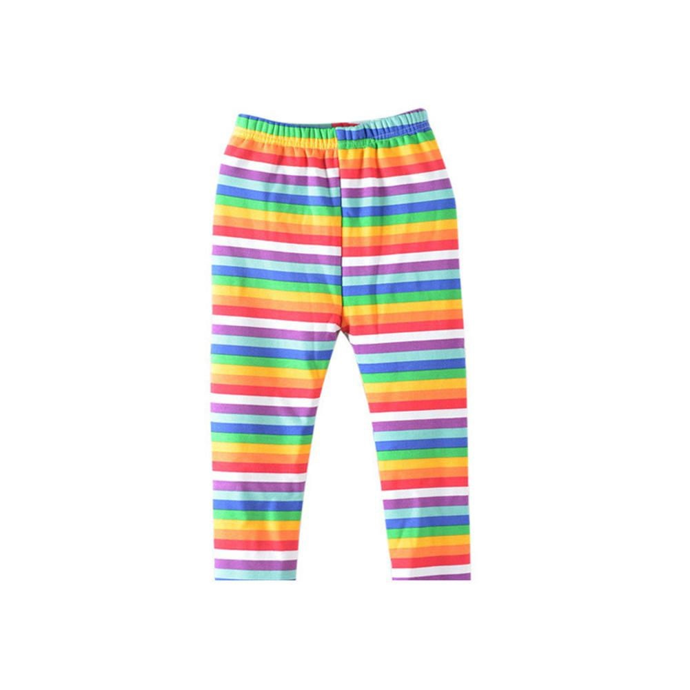 Kids Girls Fashion Printing Leggings Cropped Trousers for Daily Wear in Pants from Mother Kids