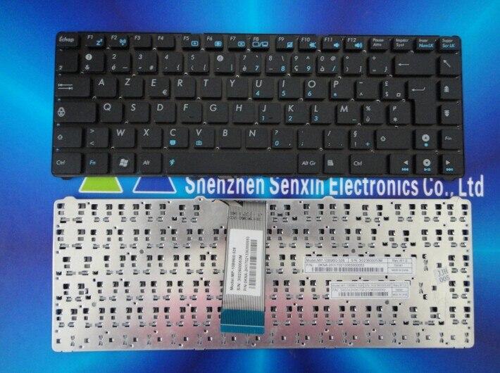 New RU Keyboard Asus Eee PC 1225C 1225B U24E black