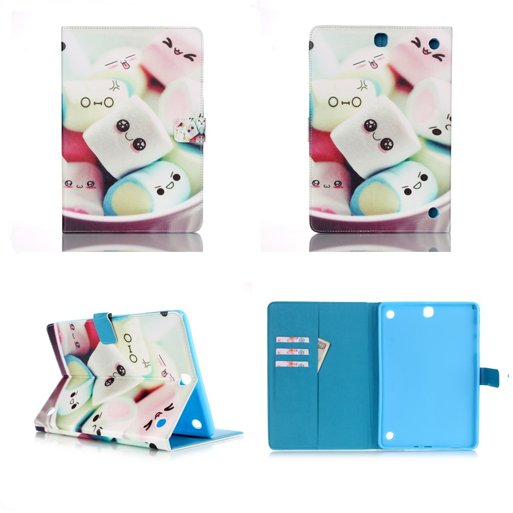 For Samsung Galaxy Tab A 10.1 2016 T580 T585 SM-T580 Tablet PU cover Case For Galaxy T230 T530 T531 T550 T350 T561 T560 #