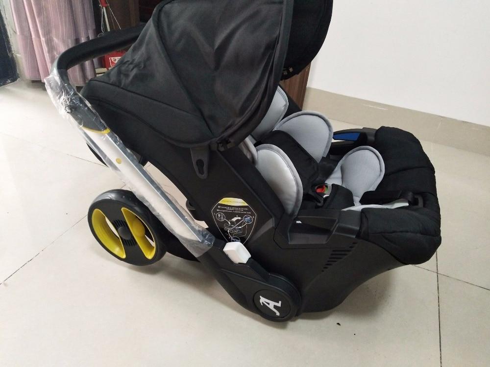 Marke baby kinderwagen 3 in 1 auto klapp licht mit auto sitz