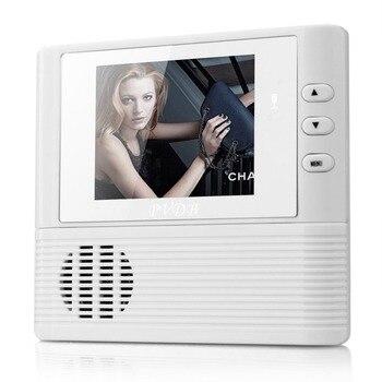 Caliente 1 unid digital puerta peephole video Timbres de puerta 0.3 m Night Vision video record seguridad para el Hogar Nueva Venta caliente
