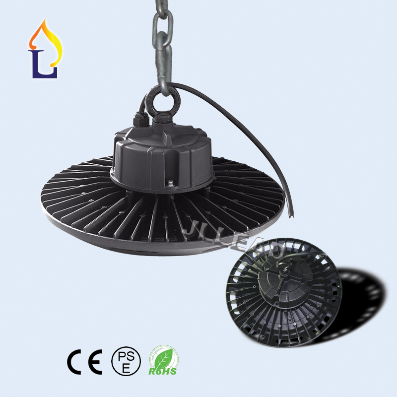 5 pcs/lot 50W 100W 150W 200W led UFO high bay light ip65 AC100-277V outdoor lightinggood heat disspotion Industrial light led brightinwd ufo high bay light 100w 150w 200w smd2835 high power led floodlight for factory warehouse machine lamp