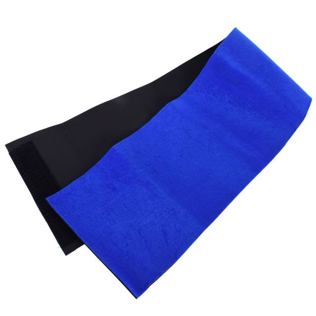 Men Women Waist Trimmer Back Support Belt Brace Gym Guard Posture Pain Relief Waist Support Black/Blue 2Colors 3