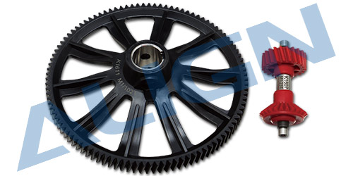 align trex 102T M1 Helical Autorotation Tail Drive Gear Set H70G012XXW Trex <font><b>700</b></font> Spare <font><b>Parts</b></font> Free Shipping with Tracking image