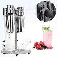 Commercial Milk Tea Mixer Double Head Milkshake Machine Drink Mixer Blender Milk Shaker Milk Bubble Mixing Machine 220 240v 180w