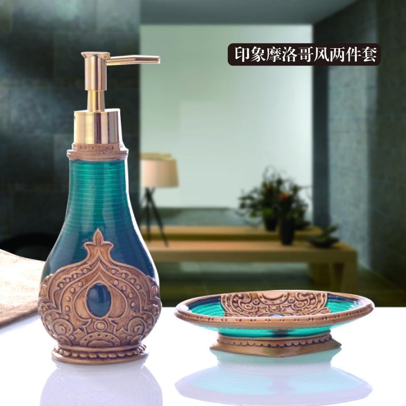 Luxury bathroom suite wash lotion bottle piece free ...