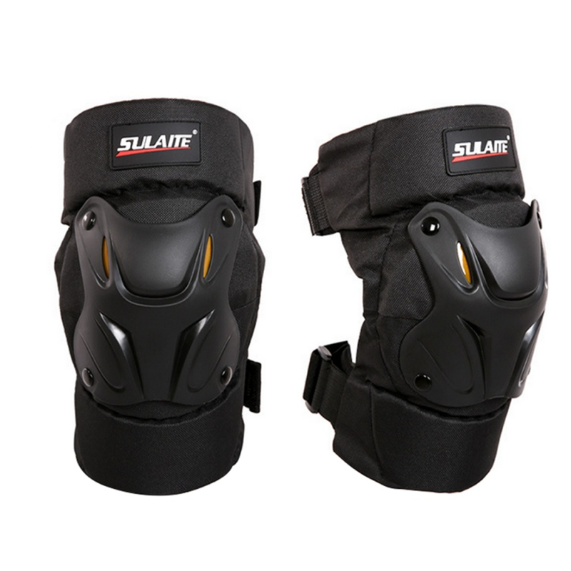 2 Pcs Unisex Sports Safety Pads Motorcycle Motocross Knee Pads Bike Ball Racing Pads ATV Protective Guards Armor Gear