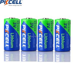 Image 3 - Bateria cr123a cr123 cr 123 cr17335 123a cr17345 (cr17335) 16340 3v baterias de lítio de 5 pces pkcell 2/3a para carmera