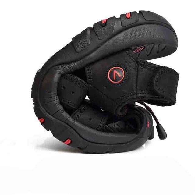 Classic Men Soft Sandals Comfortable Men Summer Shoes Leather Sandals Big Size Soft Sandals Men Roman Comfortable Men Summer