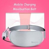 SHARE HO Portable Moxibustion Belt Pure Moxa Chinese Medicine Women Gynaecopathia Therapy Warm Uterus Irregular Menstruation