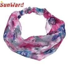 Garment 2017 Summer Girl's 1PC Lace Flower Print Hair Band Hair Cap Headband fit all women and teens