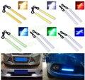 Hot 6 w Auto DRL Daytime Running Luz de Condução à prova d' água Luz Do Dia COB Chip LED Car Styling, Paking Nevoeiro Bar Lâmpada 17 cm 1 pc