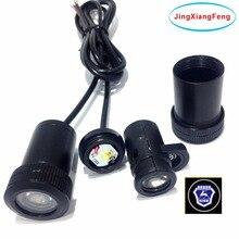Для hyundai GAZ 12v Ghost Shadow светильник светодиодный автомобильный логотип проектор декоративные аксессуары Добро пожаловать Дверь 3D лазер для ford