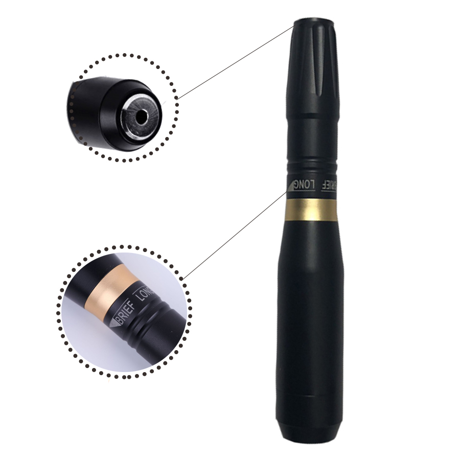 Permanent Makeup Machine 35000 RPM Powerful Tattoo Pen Rotary Gun Tattoo Machine Eyebrow Lip Tattoo Supplies Cartridge Needles in Tattoo Guns from Beauty Health