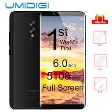 UMIDIGI S2 6.0 Inç Tam Ekran 4 GB + 64 GB 4G Smartphone Helio P20 Octa Çekirdek 5100 mAh Çift Arka Kameralar 13MP Android Cep telefon