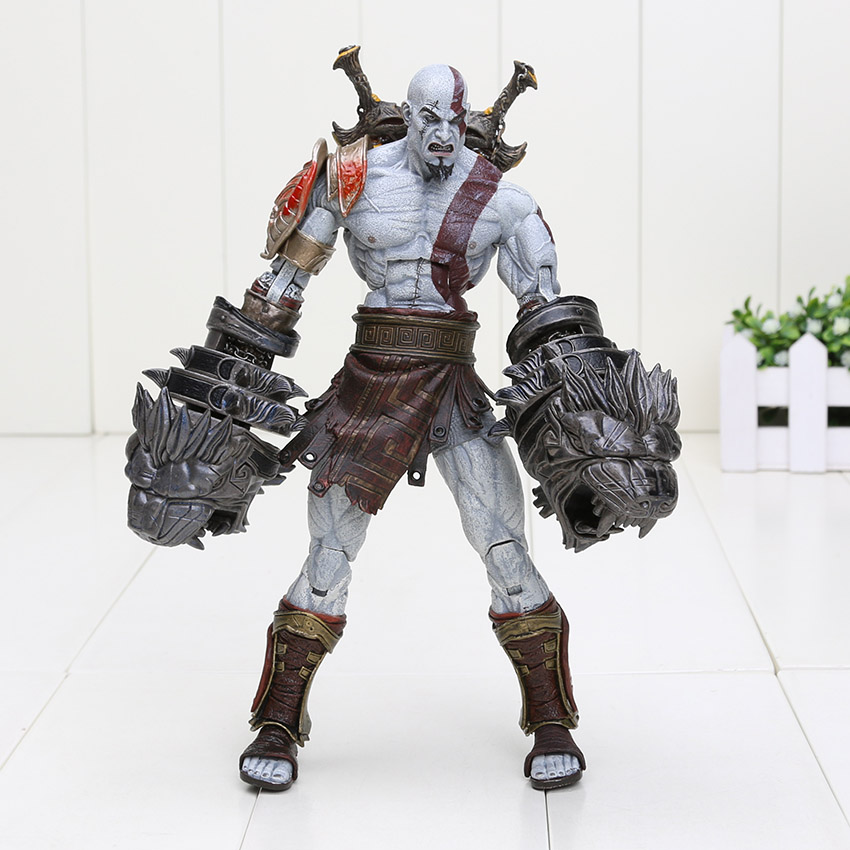 God of War Ghost of Sparta Kratos PVC Action Figure Collectible Model Toy 22cm Christmas Gifts
