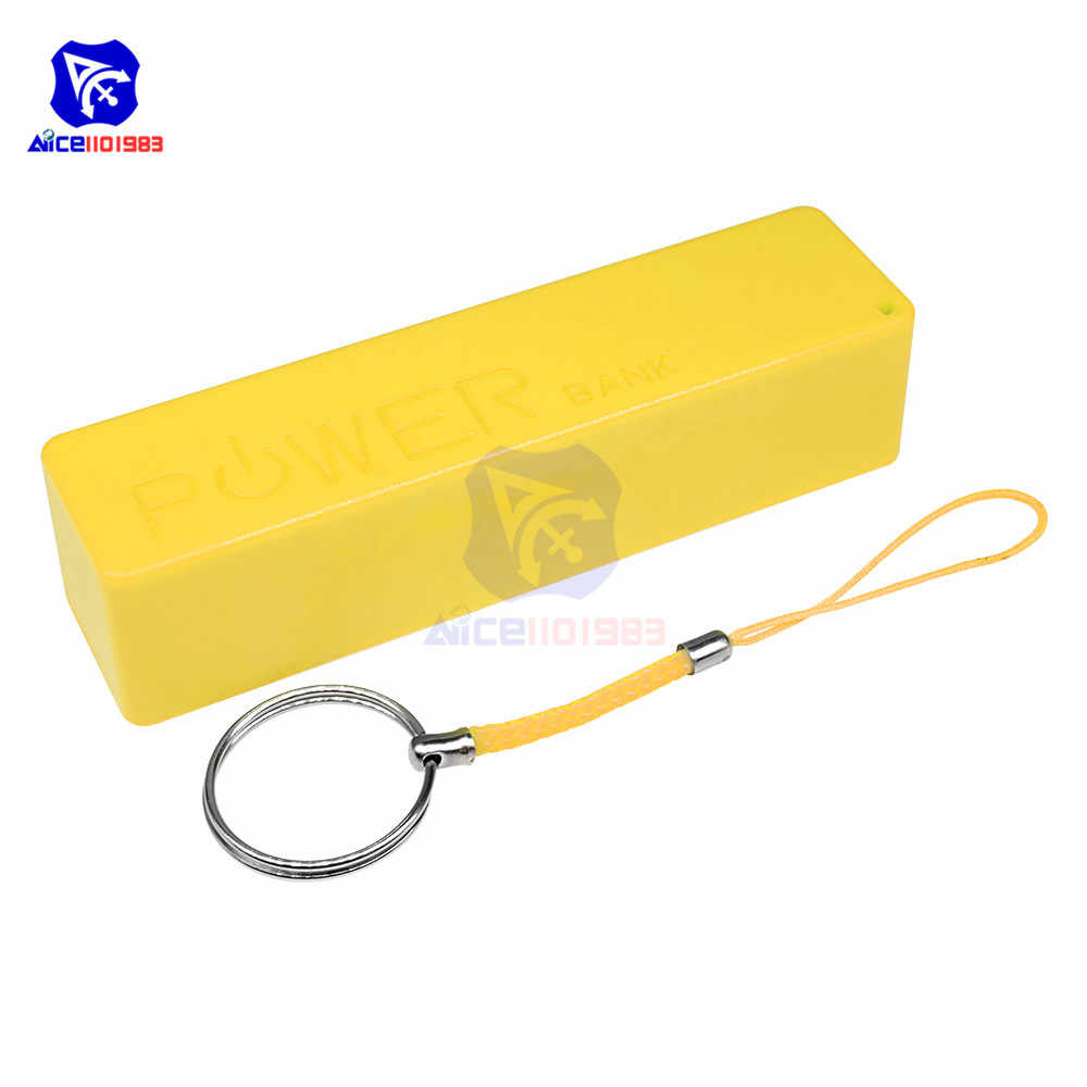 18650 حافظة بطاريات صندوق علبة صندوق شحن USB المصغّر USB وحدة ل iPhone سامسونج هواوي شاومي الهاتف الذكي شاحن بطارية صندوق