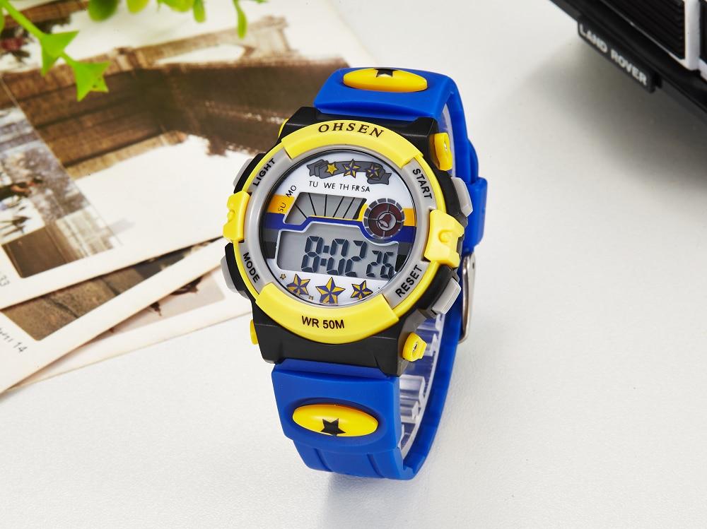 Hot OHSEN Children Watch Boys Life Waterproof Digital LED Sports Watch Kids Alarm Date Casual Watch Gift Hombre Reloj Deportivo (25)