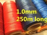 LX001 1,0 мм широкий 150D 250 м длинные воском темы Вощеная полоска для кожи swewing