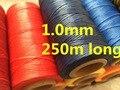 Вощеная нить LX001, длина 1,0 мм, ширина 250 D, длина м, вощеная нить, вощеная нить для кожи