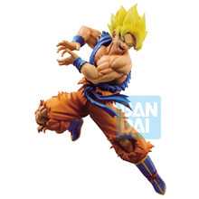 Tronzo Original Banpresto Dragon Ball Super Z-BATTLE Figura DBZ Goku SSJ Goku PVC Action Figure Brinquedos Modelo Presente Figurinhas Jouets(China)