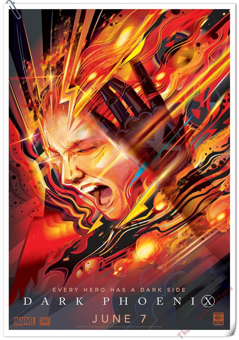 D Phoenix Art Print Home Decor Wall Art Poster