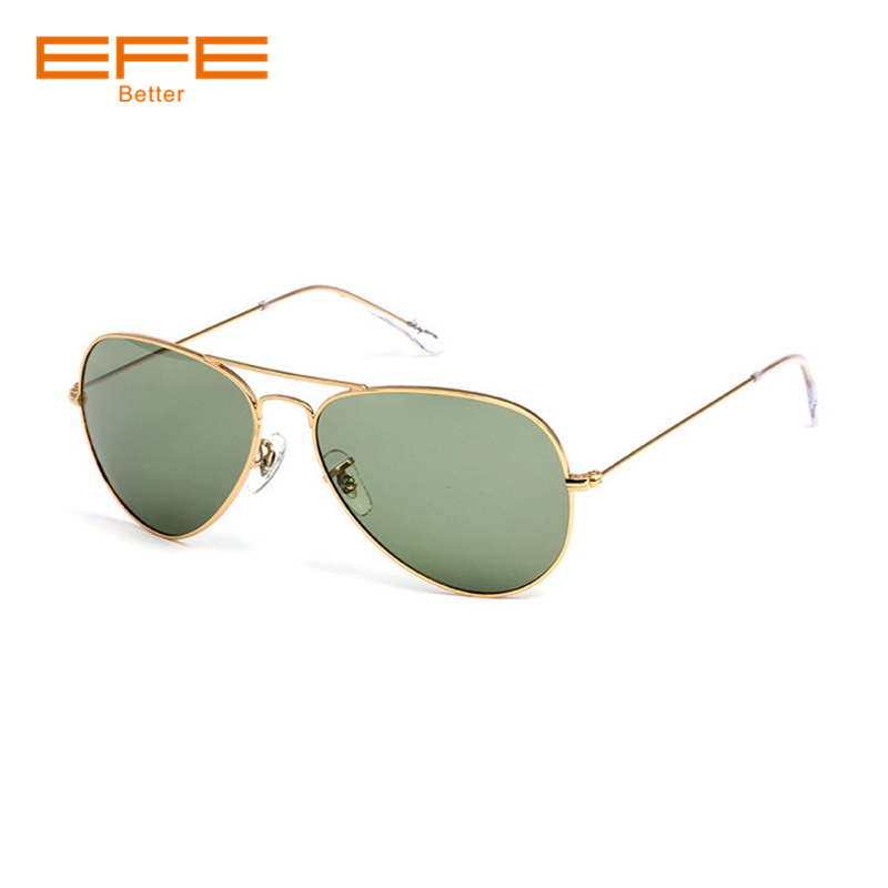fef65ba956 EFE Polarized Men Sunglasses Vintage Designer Shades for Women Full Metal  Frame Female Driving Oculos De