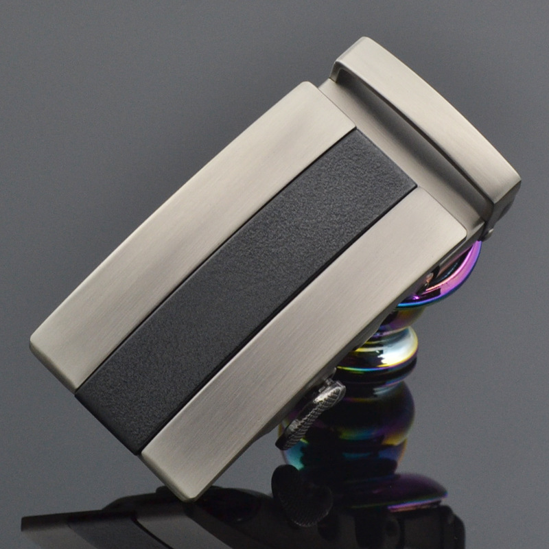 Men's Automatic Buckle Belt Not Contain Body Alloy Material Business Casual Suitable For 3.5cm Width Belt Accessories CE25-1055