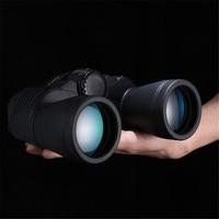 Binoculars Telescope Upgrade 20X50 Travel Vision Scope FMC Green Film Zoom Portable Waterproof Tourism Field glass Scope