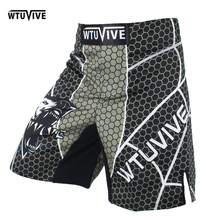 WTUVIVE MMA 2017 New Boxing Features Sports Training Muay Thai Fitness Personal Fight Shorts mma fight shorts short mma недорого
