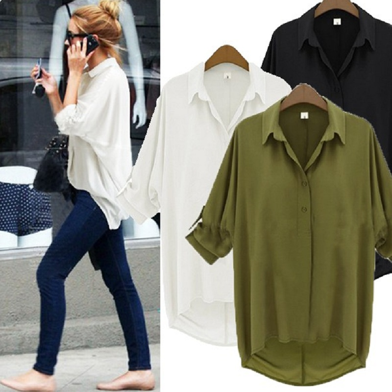 New summer women's shirts cloth