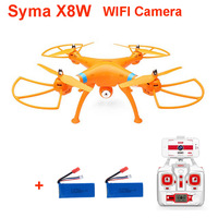 (With two batteries) Original Syma X8W Explorers WiFi FPV Drone Headless Mode RC Quadcopter with Camera RTF 2.4GHz +original box