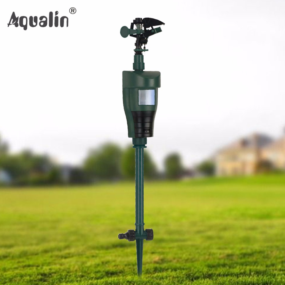 Animal Away Scarecrow Garden Pest Control Jet Spray Repellent Driving Small Animals Repellent Used Outdoor#31006